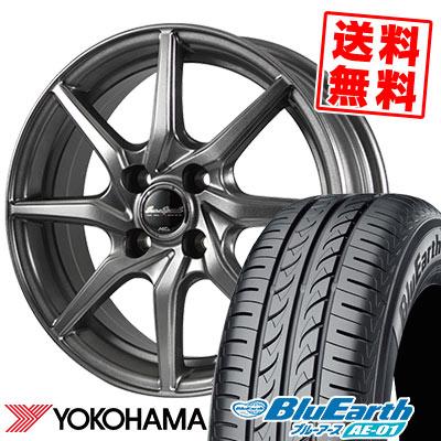 175/60R14 79H YOKOHAMA ヨコハマ BluEarth AE-01 ブルーアース AE01 EuroSpeed G810 ユーロスピード G810 サマータイヤホイール4本セット