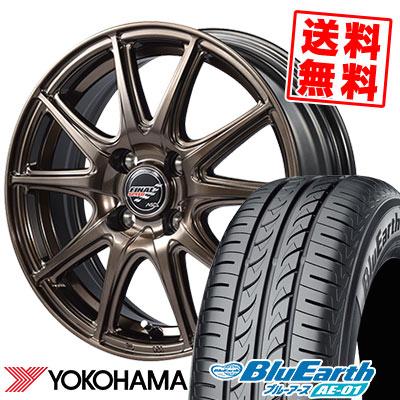 185/55R15 82V YOKOHAMA ヨコハマ BluEarth AE-01 ブルーアース AE01 FINALSPEED GR-Volt ファイナルスピード GRボルト サマータイヤホイール4本セット