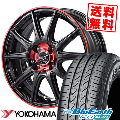 165/55R14 72V YOKOHAMA ヨコハマ BluEarth AE-01 ブルーアース AE01 FINALSPEED GR-Volt ファイナルスピード GRボルト サマータイヤホイール4本セット