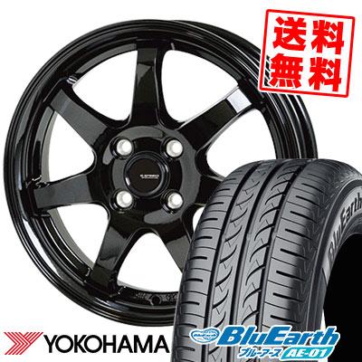 155/65R13 73S YOKOHAMA ヨコハマ BluEarth AE-01 ブルーアース AE01 G.speed G-03 Gスピード G-03 サマータイヤホイール4本セット