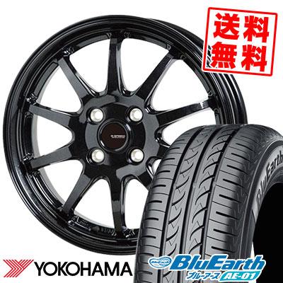 185/55R15 82V YOKOHAMA ヨコハマ BluEarth AE-01 ブルーアース AE01 G.speed G-04 Gスピード G-04 サマータイヤホイール4本セット