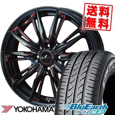 175/60R16 82H YOKOHAMA ヨコハマ BluEarth AE-01 ブルーアース AE01 WEDS LEONIS GX ウェッズ レオニス GX サマータイヤホイール4本セット