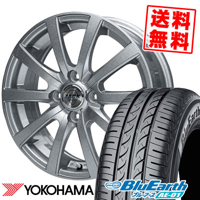 165/55R14 72V YOKOHAMA ヨコハマ BluEarth AE-01 ブルーアース AE01 ZACK JP-110 ザック JP110 サマータイヤホイール4本セット