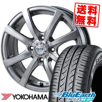 155/70R13 75S YOKOHAMA ヨコハマ BluEarth AE-01 ブルーアース AE01 ZACK JP-110 ザック JP110 サマータイヤホイール4本セット