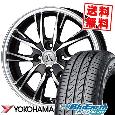 155/55R14 69V YOKOHAMA ヨコハマ BluEarth AE-01 ブルーアース AE01 Kashina XV5 カシーナ XV5 サマータイヤホイール4本セット
