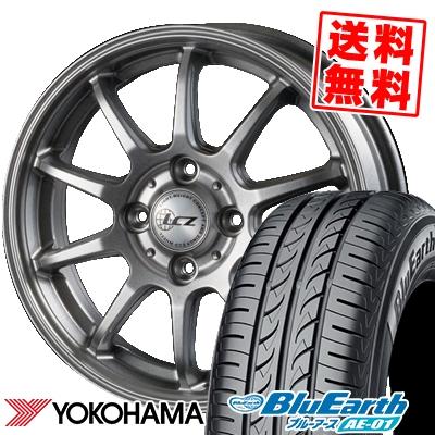 165/50R15 73V YOKOHAMA ヨコハマ BluEarth AE-01 ブルーアース AE01 LCZ010 LCZ010 サマータイヤホイール4本セット【取付対象】