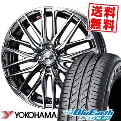 175/60R16 82H YOKOHAMA ヨコハマ BluEarth AE-01 ブルーアース AE01 WEDS LEONIS SK ウェッズ レオニス SK サマータイヤホイール4本セット
