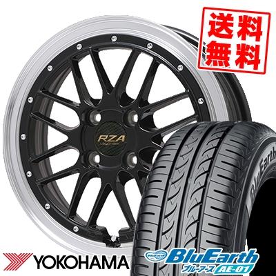 165/60R15 77H YOKOHAMA ヨコハマ BluEarth AE-01 ブルーアース AE01 Leycross REZERVA レイクロス レゼルヴァ サマータイヤホイール4本セット
