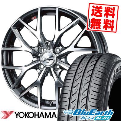175/60R16 82H YOKOHAMA ヨコハマ BluEarth AE-01 ブルーアース AE01 weds LEONIS MX ウェッズ レオニス MX サマータイヤホイール4本セット