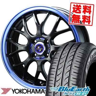 175/60R16 82H YOKOHAMA ヨコハマ BluEarth AE-01 ブルーアース AE01 EXPLODE RBM エクスプラウド RBM サマータイヤホイール4本セット
