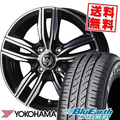 155/65R14 75S YOKOHAMA ヨコハマ BluEarth AE-01 ブルーアース AE01 WEDS RIZLEY DS ウェッズ ライツレー DS サマータイヤホイール4本セット