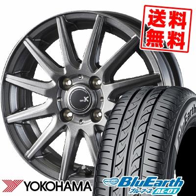 165/55R15 75V YOKOHAMA ヨコハマ BluEarth AE-01 ブルーアース AE01 spec K スペックK サマータイヤホイール4本セット