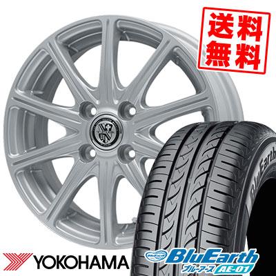 155/80R13 79S YOKOHAMA ヨコハマ BluEarth AE-01 ブルーアース AE01 TRG-SS10 TRG SS10 サマータイヤホイール4本セット