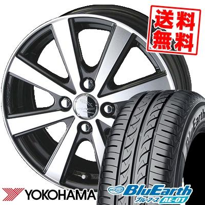 175/60R15 81H YOKOHAMA ヨコハマ BluEarth AE-01 ブルーアース AE01 SMACK VIR スマック VI-R サマータイヤホイール4本セット