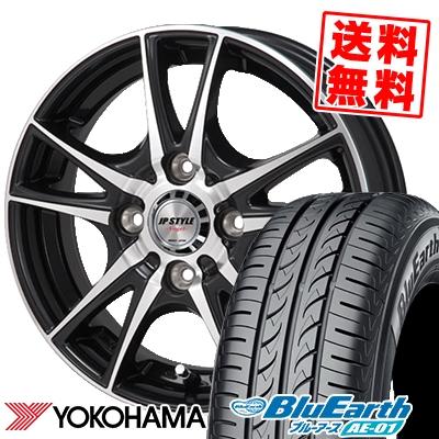 175/60R14 79H YOKOHAMA ヨコハマ BluEarth AE-01 ブルーアース AE01 JP STYLE Vogel JPスタイル ヴォーゲル サマータイヤホイール4本セット