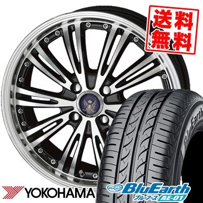165/50R15 73V YOKOHAMA ヨコハマ BluEarth AE-01 ブルーアース AE01 STEINER WX5 シュタイナー WX5 サマータイヤホイール4本セット【取付対象】