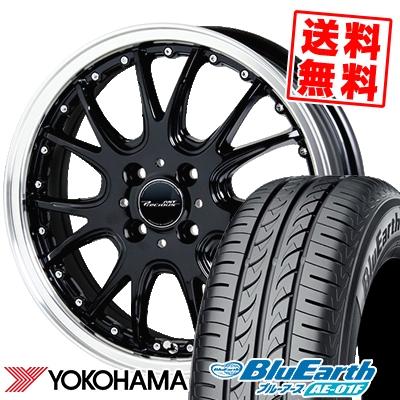 195/55R16 87V YOKOHAMA ヨコハマ BluEarth AE-01F ブルーアース AE01F Precious AST M2 プレシャス アスト M2 サマータイヤホイール4本セット