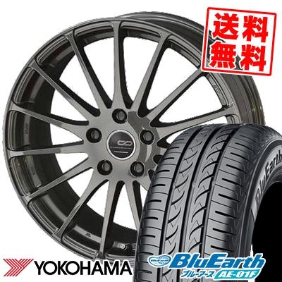 205/65R15 94H YOKOHAMA ヨコハマ BluEarth AE-01F ブルーアース AE01F ENKEI CREATIVE DIRECTION CDF1 エンケイ クリエイティブ ディレクション CD-F1 サマータイヤホイール4本セット