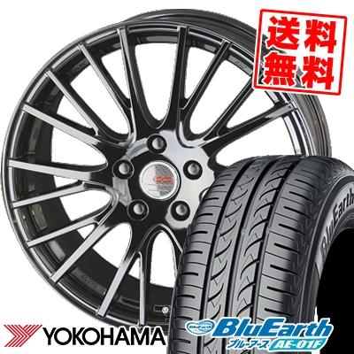 205/60R16 92H YOKOHAMA ヨコハマ BluEarth AE-01F ブルーアース AE01F ENKEI CREATIVE DIRECTION CDS1 エンケイ クリエイティブ ディレクション CD-S1 サマータイヤホイール4本セット
