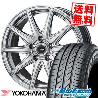195/65R15 91H YOKOHAMA ヨコハマ BluEarth AE-01F ブルーアース AE01F ZACK JP-710 ザック ジェイピー710 サマータイヤホイール4本セット