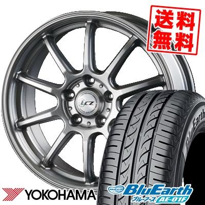 205/60R16 92H YOKOHAMA ヨコハマ BluEarth AE-01F ブルーアース AE01F LCZ010 LCZ010 サマータイヤホイール4本セット