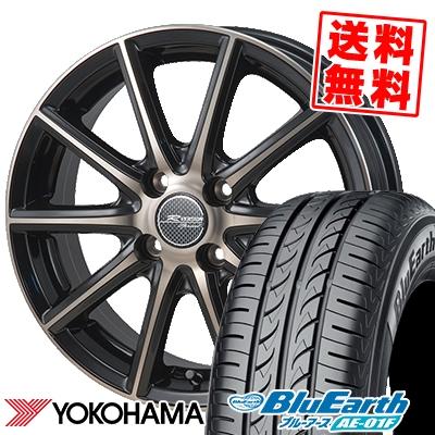 185/65R15 88S YOKOHAMA ヨコハマ BluEarth AE-01F ブルーアース AE01F MONZA R VERSION Sprint モンツァ Rヴァージョン スプリント サマータイヤホイール4本セット【取付対象】