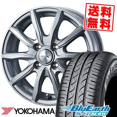 185/65R15 88S YOKOHAMA ヨコハマ BluEarth AE-01F ブルーアース AE01F JOKER SHAKE ジョーカー シェイク サマータイヤホイール4本セット