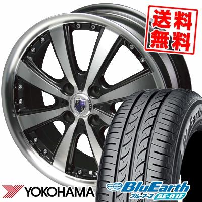 185/65R15 88S YOKOHAMA ヨコハマ BluEarth AE-01F ブルーアース AE01F STEINER VS-5 シュタイナー VS5 サマータイヤホイール4本セット【取付対象】