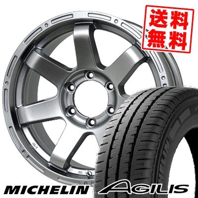 195/80R15 107/105R MICHELIN ミシュラン AGILIS アジリス MAD CROSS MC-76 マッドクロス MC-76 サマータイヤホイール4本セット【取付対象】