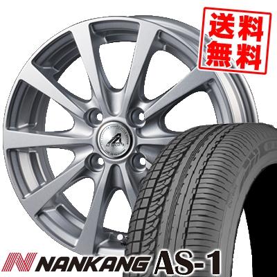 135/80R12 68S NANKANG ナンカン AS-1 エーエスワン AZ SPORTS EX10 AZスポーツ EX10 サマータイヤホイール4本セット