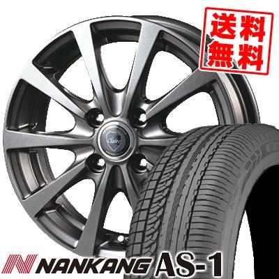 135/80R12 68S NANKANG ナンカン AS-1 エーエスワン CLAIRE RG10 クレール RG10 サマータイヤホイール4本セット