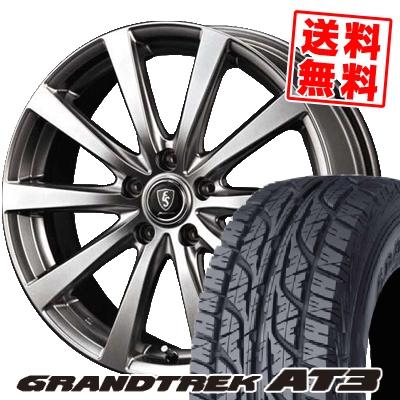 215/65R16 98H DUNLOP ダンロップ GRANDTREK AT3 グラントレック AT3 Euro Speed G10 ユーロスピード G10 サマータイヤホイール4本セット【取付対象】