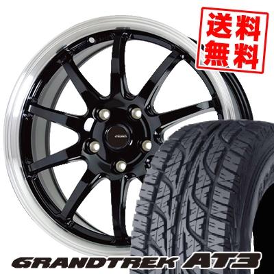 235/70R16 106S DUNLOP ダンロップ GRANDTREK AT3 グラントレック AT3 G.speed P-04 ジースピード P-04 サマータイヤホイール4本セット