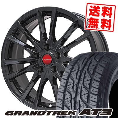 215/70R16 DUNLOP ダンロップ GRANDTREK AT3 グラントレック AT3 LeyBahn GBX レイバーン GBX サマータイヤホイール4本セット