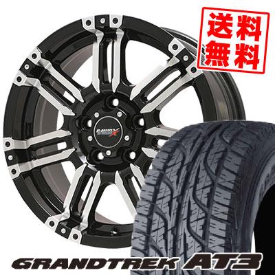 215/65R16 98H DUNLOP ダンロップ GRANDTREK AT3 グラントレック AT3 B-MUD X Bマッド エックス サマータイヤホイール4本セット