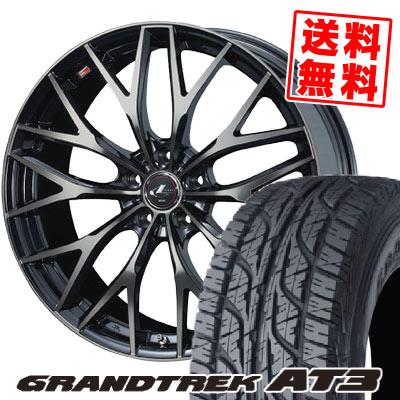 205/70R15 96S DUNLOP ダンロップ GRANDTREK AT3 グラントレック AT3 weds LEONIS MX ウェッズ レオニス MX サマータイヤホイール4本セット