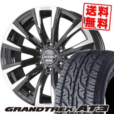 215/65R16 98H DUNLOP ダンロップ GRANDTREK AT3 グラントレック AT3 MAD CROSS BREAKER XS6 マッドクロス ブレイカー XS6 サマータイヤホイール4本セット