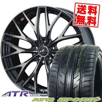 255/30R21 95W XL ATR SPORTS エーティーアールスポーツ ATR Sports2 ATRスポーツ2 weds LEONIS MX ウェッズ レオニス MX サマータイヤホイール4本セット