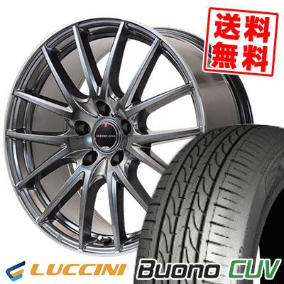 235/55R18 104V LUCCINI ルッチーニ Buono CUV ヴォーノ CUV VERTEC ONE Eins.1 ヴァーテック ワン アインス ワン サマータイヤホイール4本セット