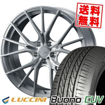 235/55R18 104V LUCCINI ルッチーニ Buono CUV ヴォーノ CUV WEDS F ZERO FZ-1 ウェッズ エフゼロ FZ-1 サマータイヤホイール4本セット