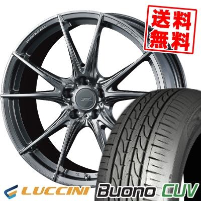 235/55R18 104V LUCCINI ルッチーニ Buono CUV ヴォーノ CUV WEDS F ZERO FZ-2 ウェッズ エフゼロ FZ-2 サマータイヤホイール4本セット