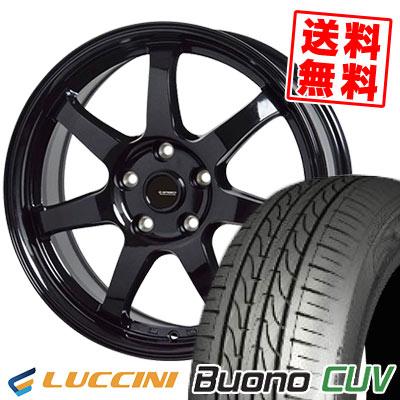 235/55R18 104V LUCCINI ルッチーニ Buono CUV ヴォーノ CUV G.speed G-03 Gスピード G-03 サマータイヤホイール4本セット