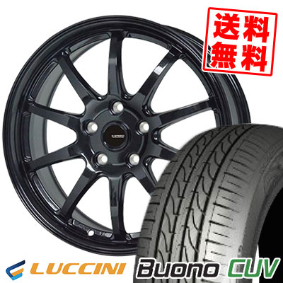 235/55R18 104V LUCCINI ルッチーニ Buono CUV ヴォーノ CUV G.speed G-04 Gスピード G-04 サマータイヤホイール4本セット