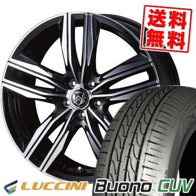 235/55R18 104V LUCCINI ルッチーニ Buono CUV ヴォーノ CUV WEDS RIZLEY DS ウェッズ ライツレー DS サマータイヤホイール4本セット