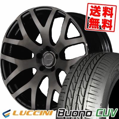 235/55R18 104V LUCCINI ルッチーニ Buono CUV ヴォーノ CUV RAYS WALTZ FORGED S7 レイズ ヴァルツ フォージド S7 サマータイヤホイール4本セット