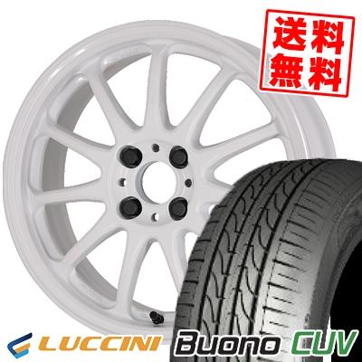205/50R16 87V LUCCINI ルッチーニ Buono Drive ヴォーノ ドライヴ WORK EMOTION 11R ワーク エモーション 11R サマータイヤホイール4本セット
