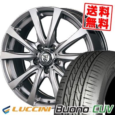 205/65R16 95H LUCCINI ルッチーニ Buono Drive ヴォーノ ドライヴ TRG-BAHN TRG バーン サマータイヤホイール4本セット