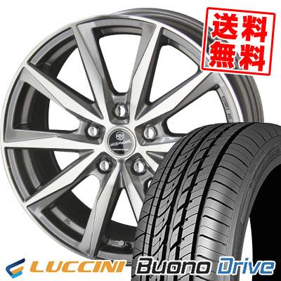 205/65R16 95H LUCCINI ルッチーニ Buono Drive ヴォーノ ドライヴ SMACK BASALT スマック バサルト サマータイヤホイール4本セット