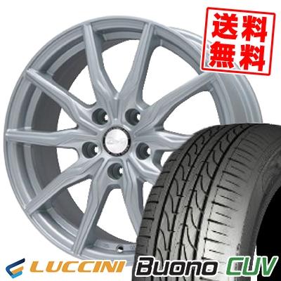 205/65R16 LUCCINI ルッチーニ Buono Drive ヴォーノ ドライヴ B-WIN KRX B-WIN KRX サマータイヤホイール4本セット