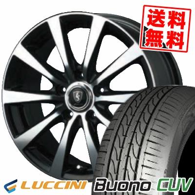 205/65R16 95H LUCCINI ルッチーニ Buono Drive ヴォーノ ドライヴ EUROSPEED BL10 ユーロスピード BL10 サマータイヤホイール4本セット